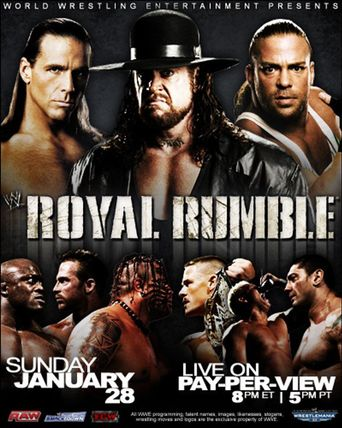 WWE Royal Rumble 2007 Poster