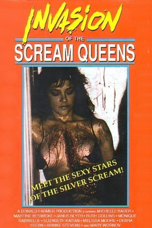 Invasion of the Scream Queens Poster