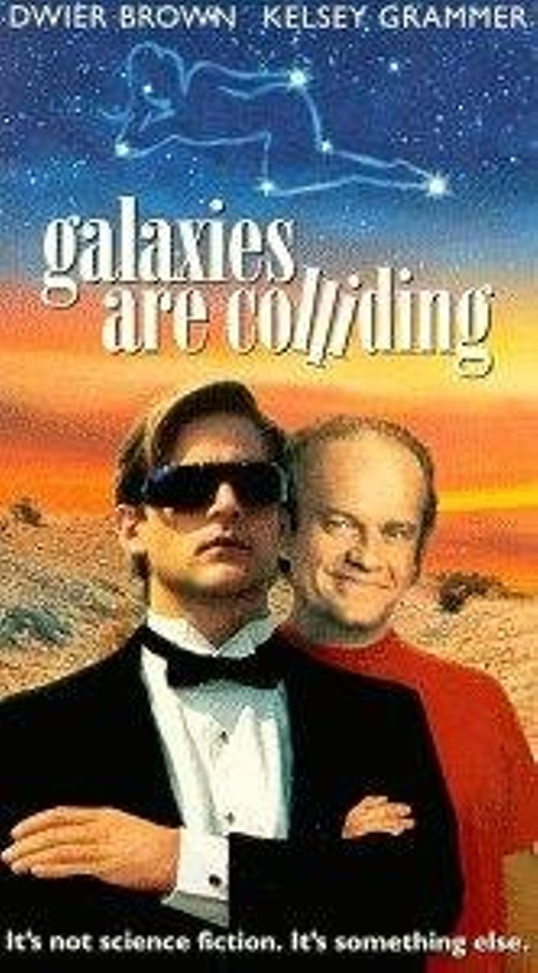 Galaxies Are Colliding Poster