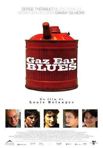 Gaz Bar Blues Poster