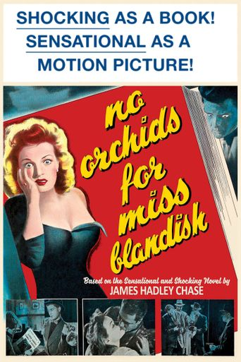 No Orchids for Miss Blandish Poster