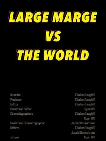 Large Marge vs The World Poster