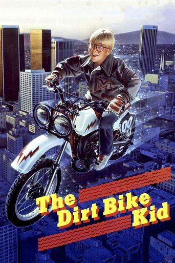 The Dirt Bike Kid Poster