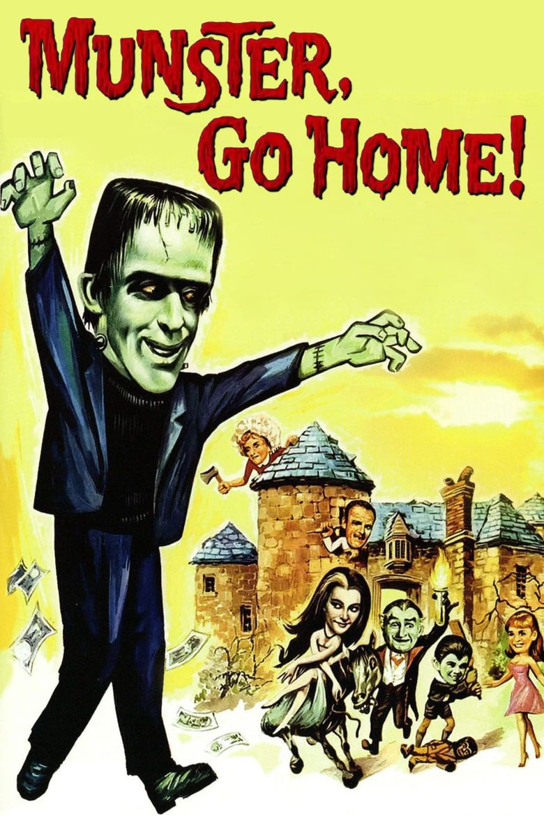 Munster, Go Home! Poster