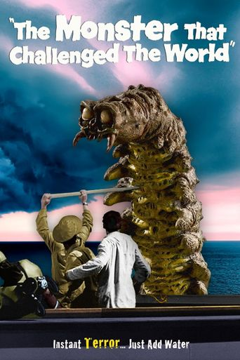 The Monster That Challenged the World Poster