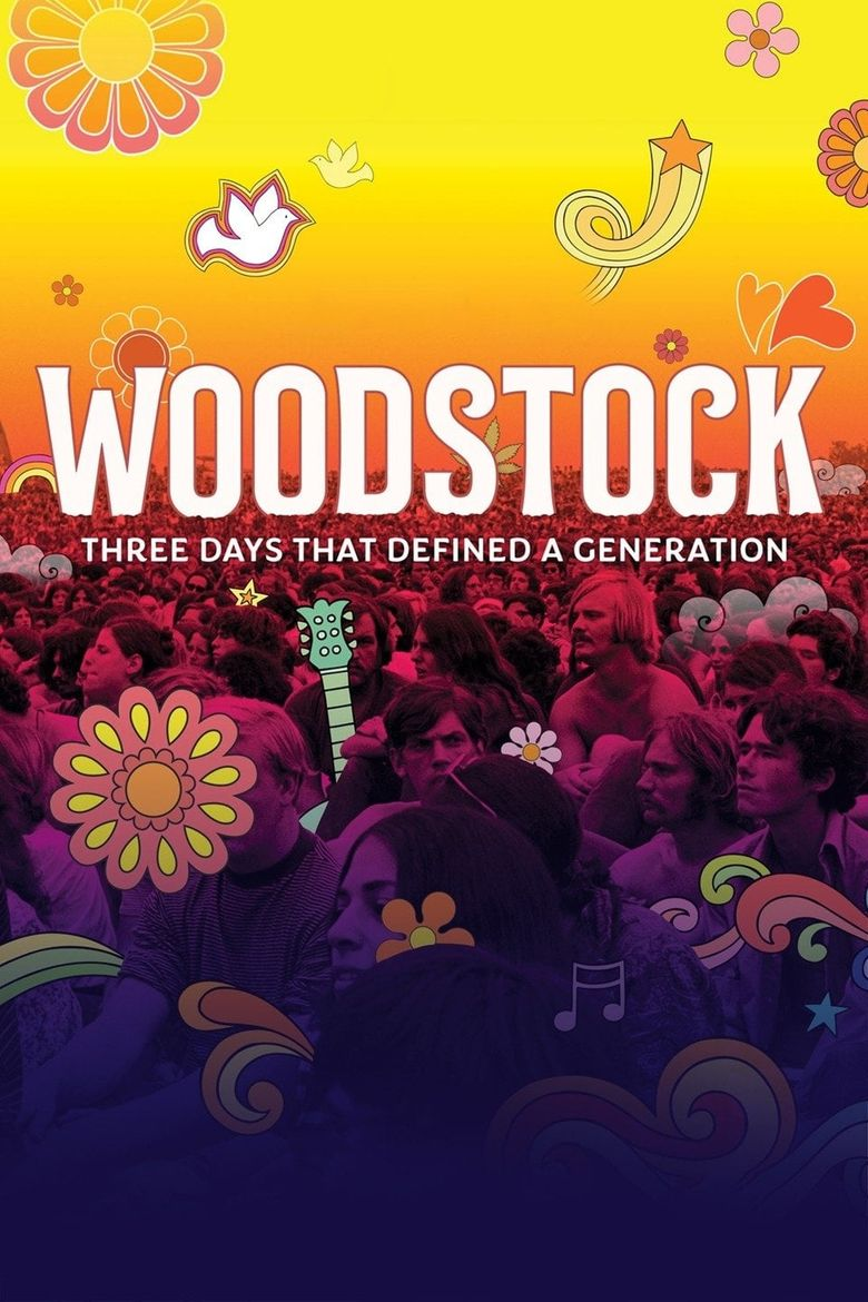 Woodstock: Three Days That Defined a Generation Poster