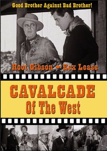 Cavalcade of the West Poster
