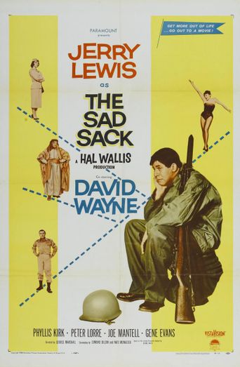 The Sad Sack Poster