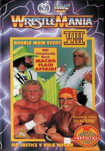 WWE WrestleMania VIII Poster