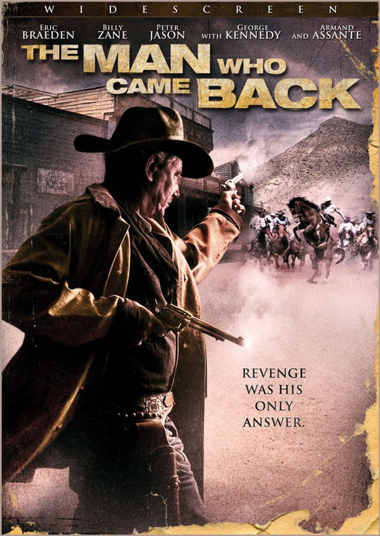 The Man Who Came Back Poster