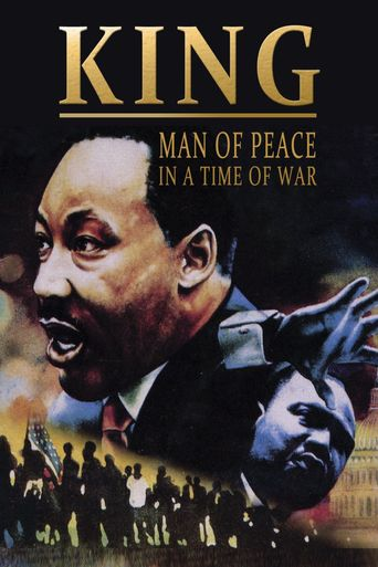 King: Man of Peace in a Time of War Poster