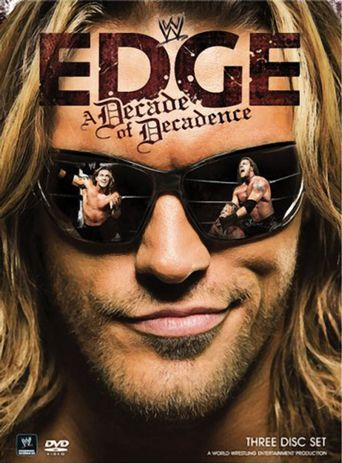 WWE: Edge: A Decade of Decadence Poster