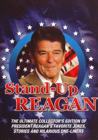 Stand-up Reagan Poster