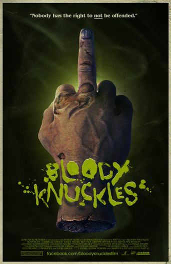 Bloody Knuckles Poster