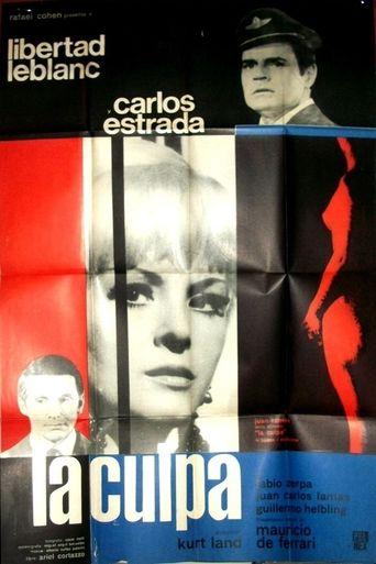 La Culpa Poster