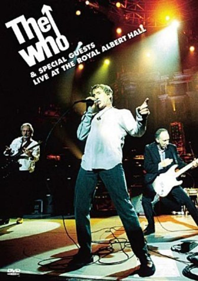 The Who & Special Guests: Live at the Royal Albert Hall Poster
