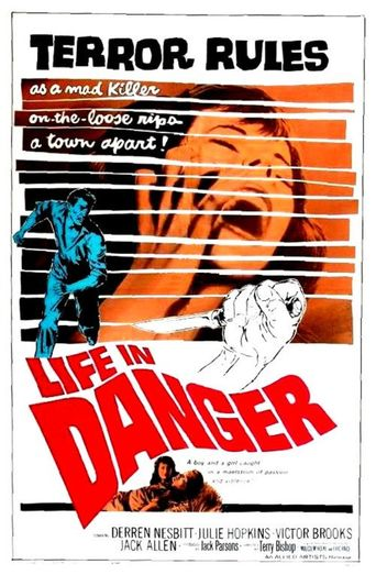 Life in Danger Poster