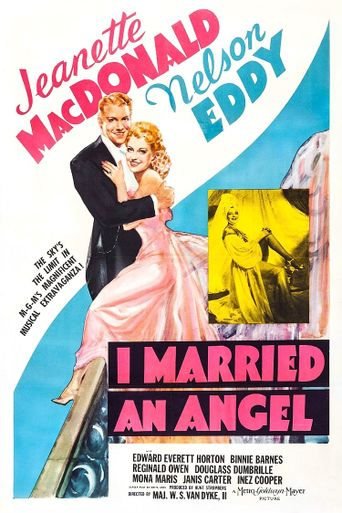 I Married an Angel Poster