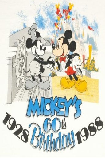 Mickey's 60th Birthday Poster