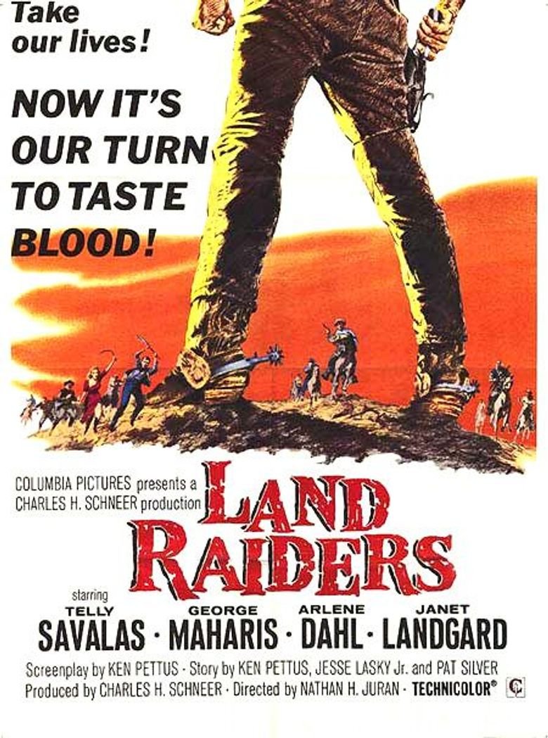 Land Raiders Poster