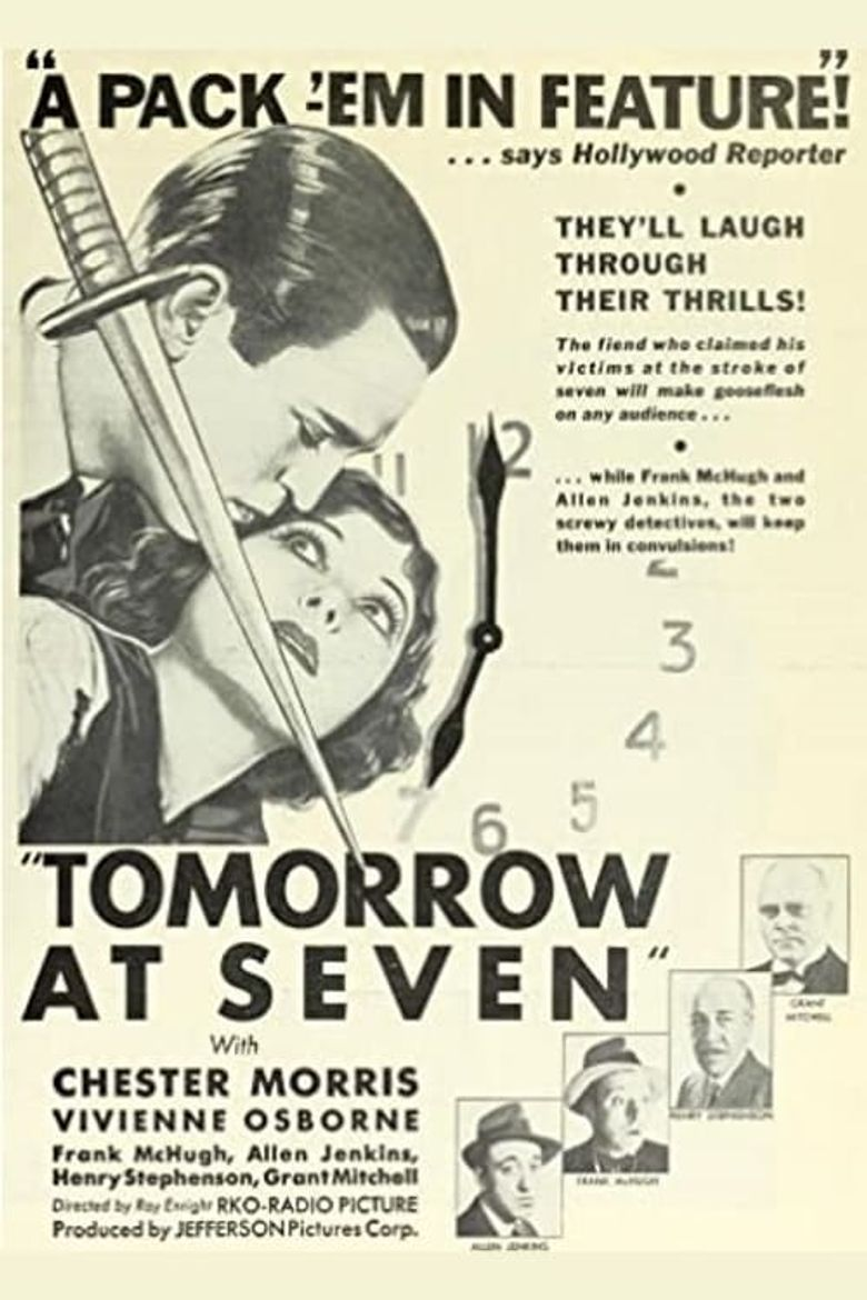 Tomorrow at Seven Poster