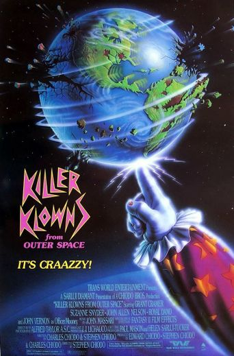 Killer Klowns from Outer Space Poster