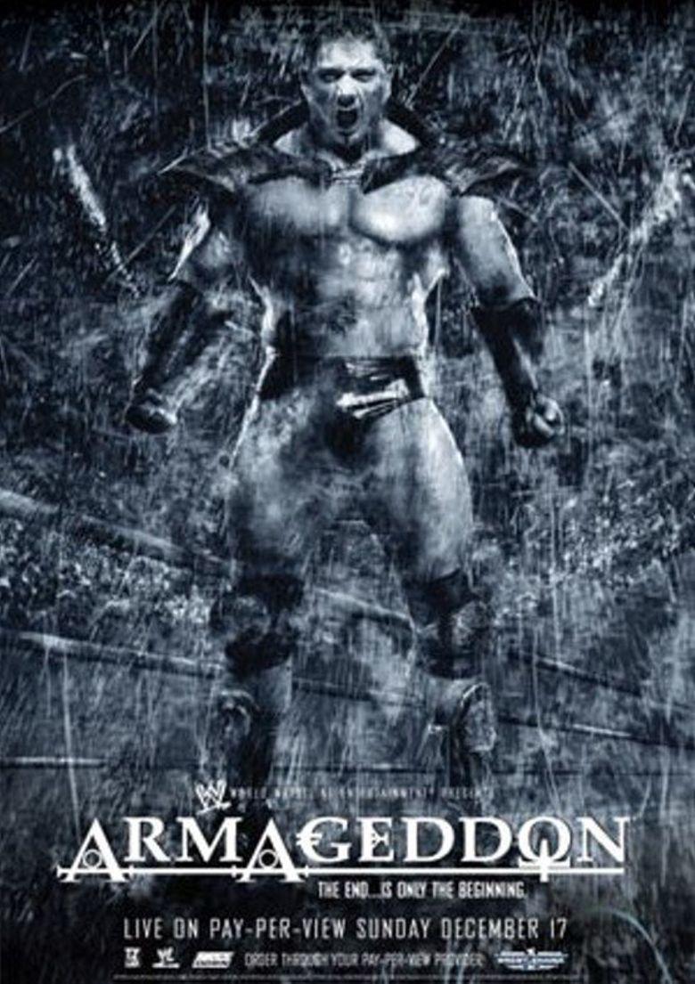 WWE Armageddon 2006 Poster