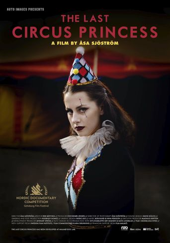 Den sista cirkusprinsessan Poster