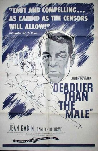 Deadlier Than the Male Poster