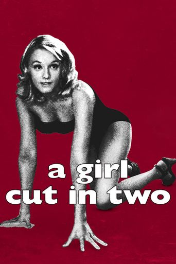 A Girl Cut in Two Poster