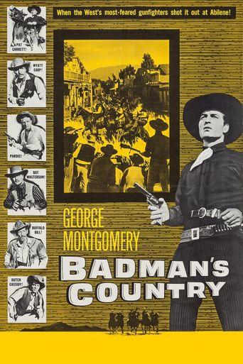 Badman's Country Poster