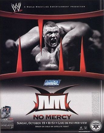 WWE No Mercy 2003 Poster