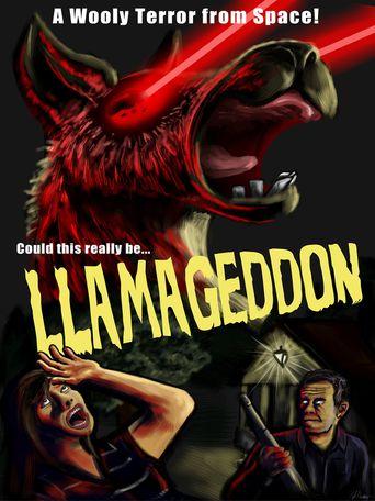Llamageddon Poster