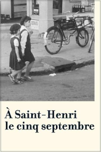 September Five at Saint-Henri Poster