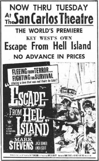 Escape from Hell Island Poster