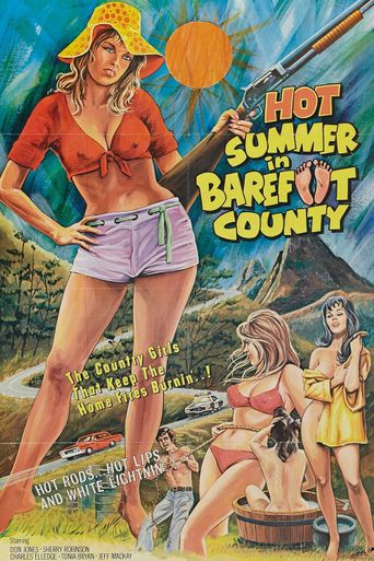 Hot Summer in Barefoot County Poster