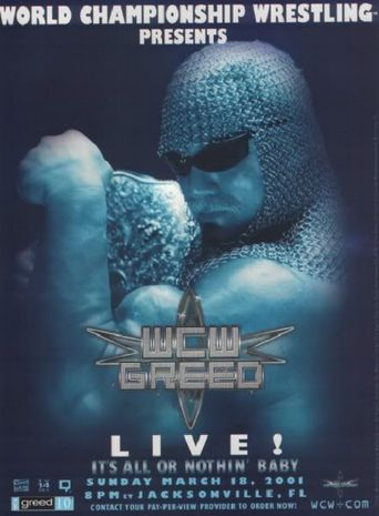 WCW Greed Poster
