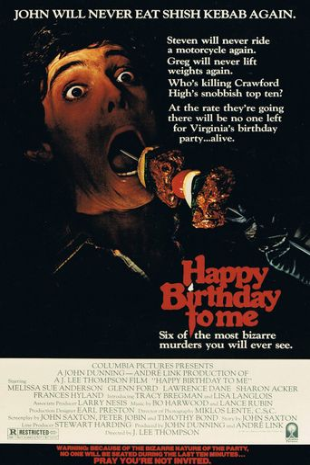 Watch Happy Birthday to Me