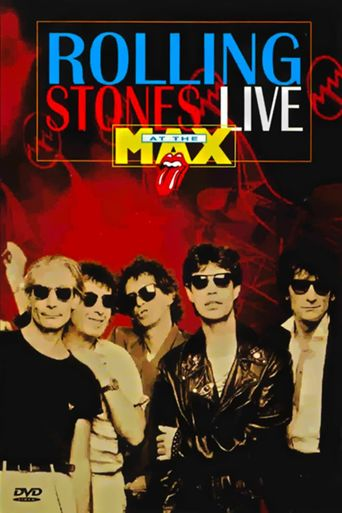 The Rolling Stones: Live at the Max Poster