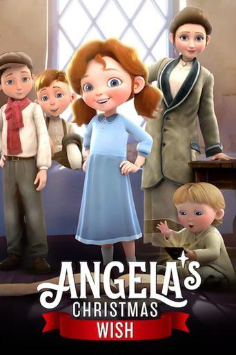 Angela's Christmas Wish Poster