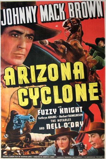 Arizona Cyclone Poster