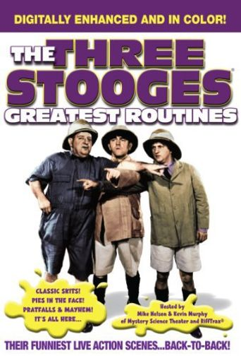 Three Stooges: Greatest Routines Poster