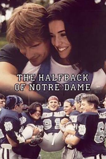 The Halfback of Notre Dame Poster