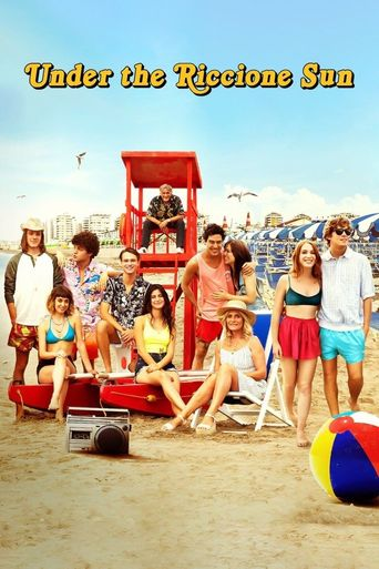 Under the Riccione Sun Poster