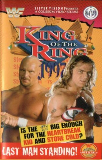 WWE King of the Ring 1997 Poster