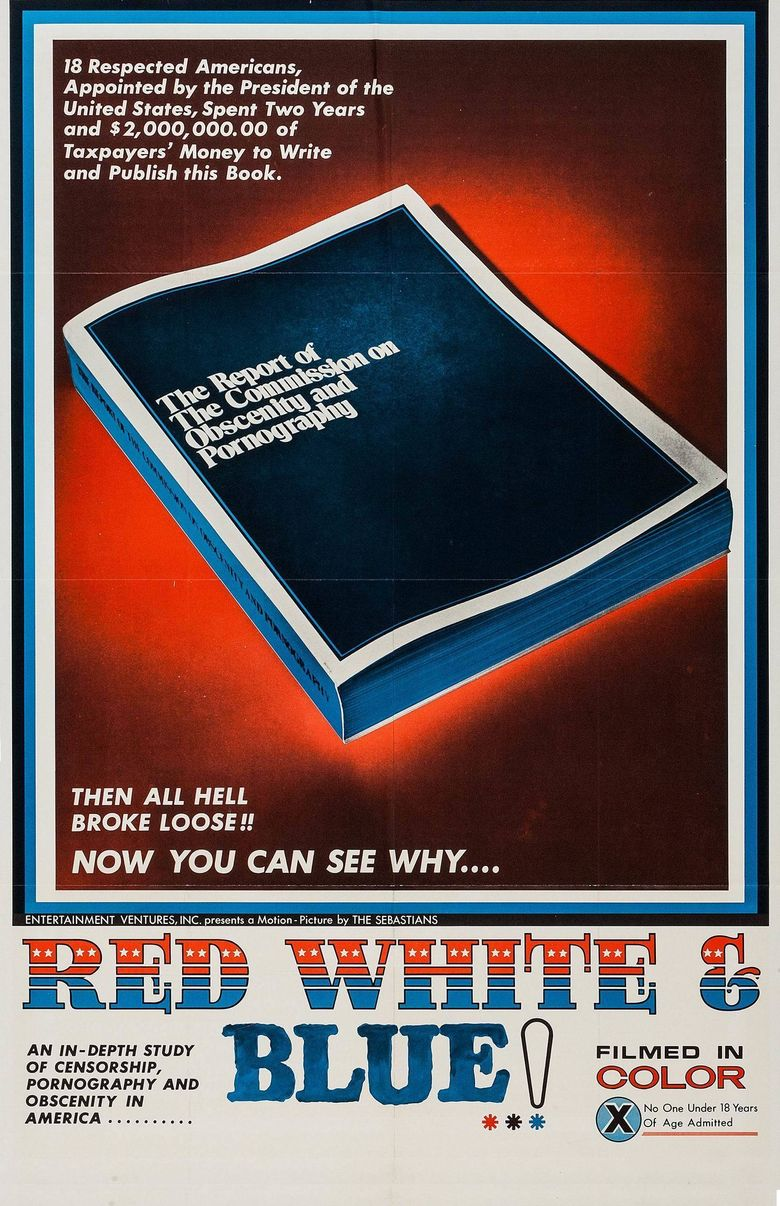 Red, White and Blue Poster