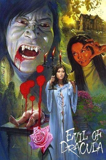 Evil of Dracula Poster