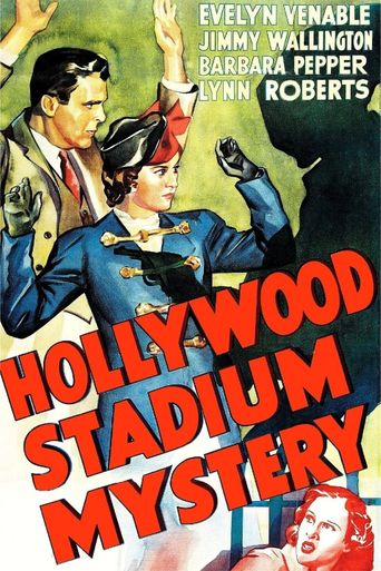Hollywood Stadium Mystery Poster