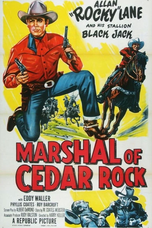 Marshal of Cedar Rock Poster