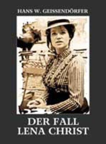 Der Fall Lena Christ Poster